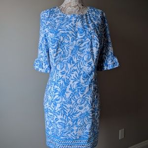 Lilly Pulitzer Engineered dress with lobster crab